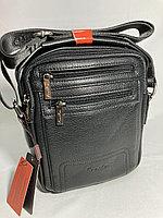 """Мужская молодежная сумка на плечо""""Cantlor"""". Высота 24 см, ширина 20 см, глубина 5 см., фото 1"""