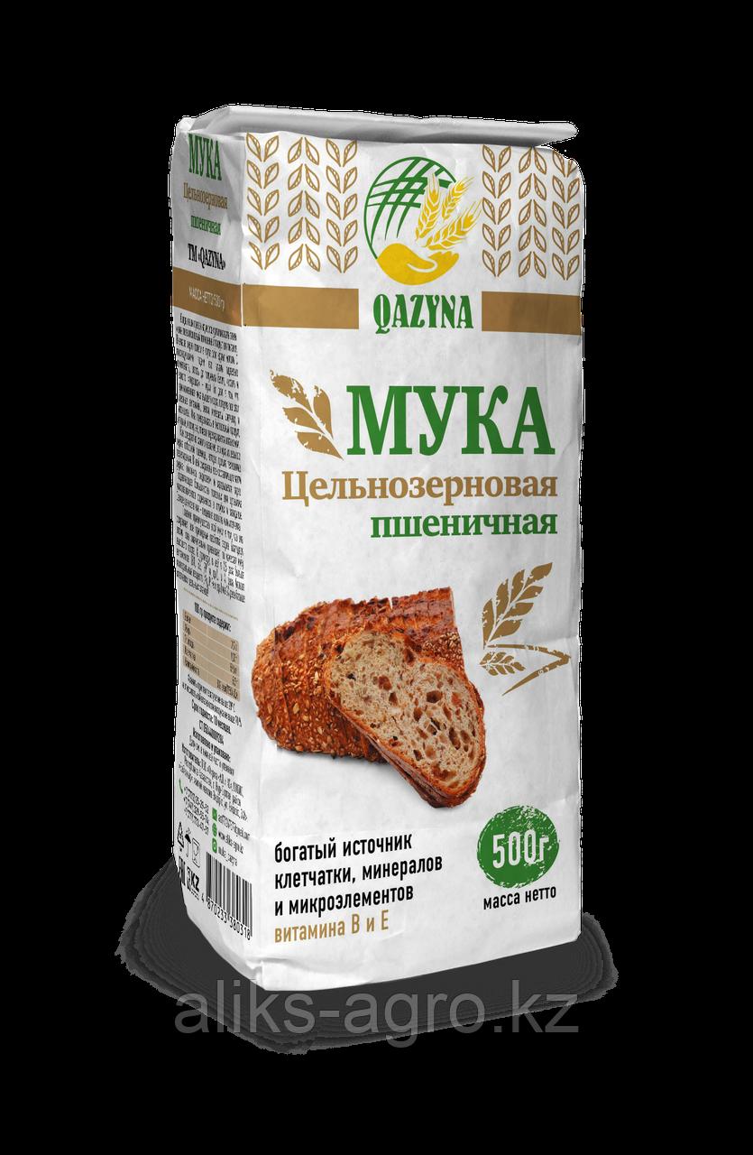Мука цельнозерновая пшеничная 500 гр