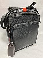 """Мужская деловая сумка через плечо""""Cantlor"""". Высота 26 см, ширина 22 см, глубина 4 см., фото 1"""