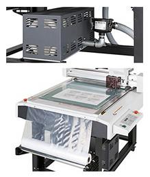 Mimaki CFL-605RT: система вакуумного прижима для надежной фиксации материала