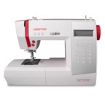 Швейная машина Veritas Bessie, белый+красный