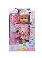 """Кукла с аксессуарами многофункцион-ая """"Валюша"""" в платье.Разобранная.Рост 35 см."""