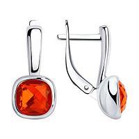 Серьги из серебра с SOKOLOV 94-120-00775-1