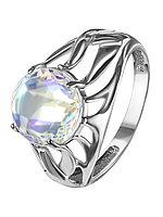 Кольцо из серебра с фианитом синт. TEOSA 10120-564-IRCZ