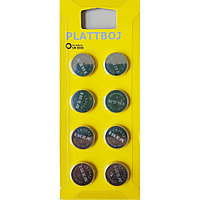 Батарейка IKEA PLATTBOJ ПЛАТБОЙ CR 2032, 8шт