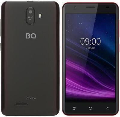 Смартфон bright & quick BQ 5016G CHOICE Красный