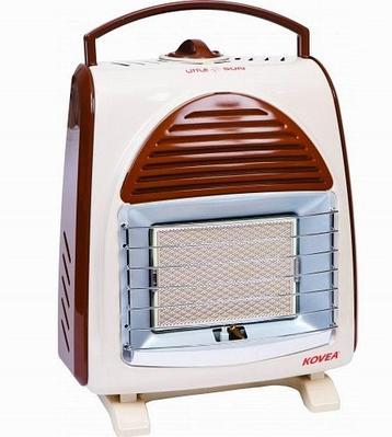 Обогреватель газовый KOVEA Мод. LITTLE SUN R43041, коричневый