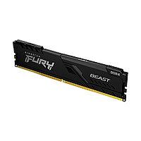 Модуль памяти Kingston FURY Beast KF432C16BB/8 DDR4 8GB 3200MHz