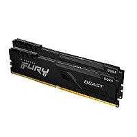 Комплект модулей памяти Kingston FURY Beast KF432C16BBK2/16 DDR4 16GB (Kit 2x8GB) 3200MHz
