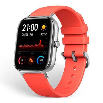 Смарт часы Xiaomi Amazfit GTS оранжевый