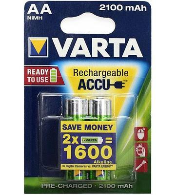 Аккумуляторы Varta AA (HR6) Longlife Accu NiMH (R2U)