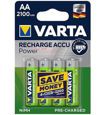 Аккумуляторы Varta AA (HR6), Longlife Accu NiMH (R2U)