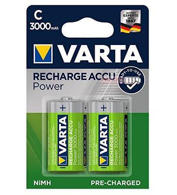 Аккумуляторы Varta C (HR14), Power Accu NiMH (R2U)