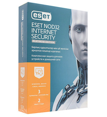 Антивирус Eset NOD32 Internet Security Platinum Edition