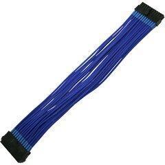 Удлинитель Nanoxia 24-pin ATX, 30см, синий