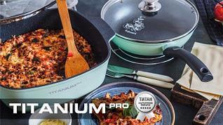 Titanium Pro ультрапрочное титановое антипригарное покрытие