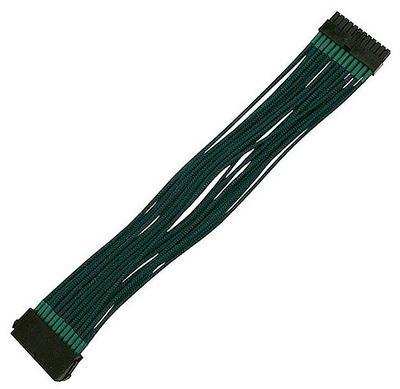 Удлинитель Nanoxia 24-pin ATX, 30см, темно зеленый
