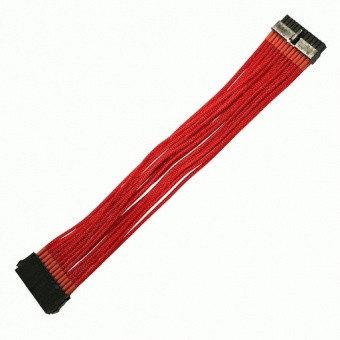 Удлинитель Nanoxia 24-pin ATX, 30см, красный