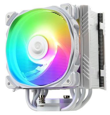 Кулер для процессора Enermax ETS-T50A-W-ARGB, многоцветная подсветка/ белый