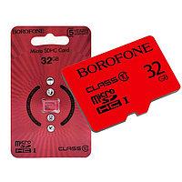 Карта памяти Borofone Micro SD Card класс 10, 32 Гб