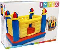 Надувной игровой центр батут INTEX 48259 Замок Детский 175x175x135 см