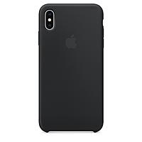 Чехол для Apple iPhone Xs Max Silicone Case чёрный