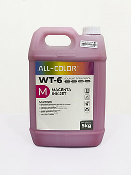 Сольвентная краска WT-6 — красный (WT-5л-М)