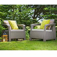 Комплект плетенной мебели Корфу дуо
