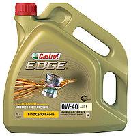 Топливосберегающее моторное масло CASTROL Edge SM/CF 0W40 4л
