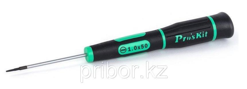 Отвертка шлицевая -1.0х50мм Pro'sKit SD-081-S1