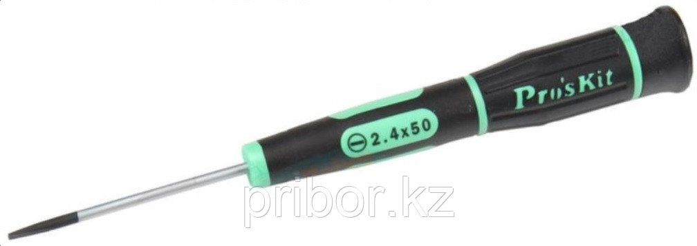 Отвертка шлицевая -2.4х50мм Pro'sKit SD-081-S4
