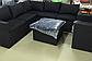 Набор мебели, диван + стол (из искусственного ротанга), фото 3