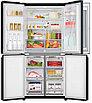 Холодильник LG GC-Q22FTBKL черный, фото 4