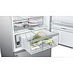 Холодильник Bosch KGA76PI30U серебристый, фото 4