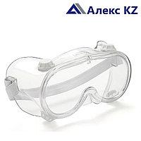 Очки защитные закрытого типа с прямой вентиляцией SL (200)