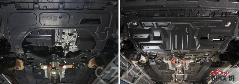 Защита картера и КПП  Volkswagen Polo 2020- н.в., фото 2
