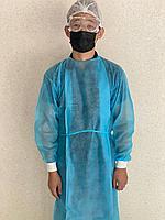 Одноразовый медицинский халат с манжетом 25\40\60гр