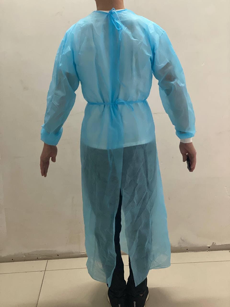 Одноразовый медицинский халат с манжетом 25\40\60гр - фото 3