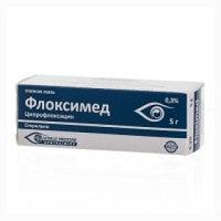 Флоксимед 0,3% 5г гл.мазь