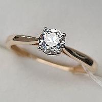 Сертификат IGI 0.50Сt VS1/l, Good - Cut Золотое кольцо с бриллиантами, фото 1