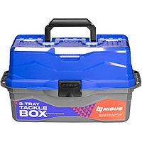 Ящик рыболова ТОНАР NISUS N-TB-3-B синий R 84101