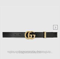 Ремень узкий Gucci GG Marmont