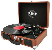 Проигрыватель виниловый Ritmix LP-160B коричневый