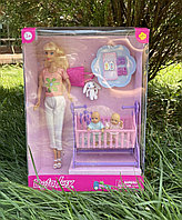 Кукла Барби Defa Lucy с близнецами