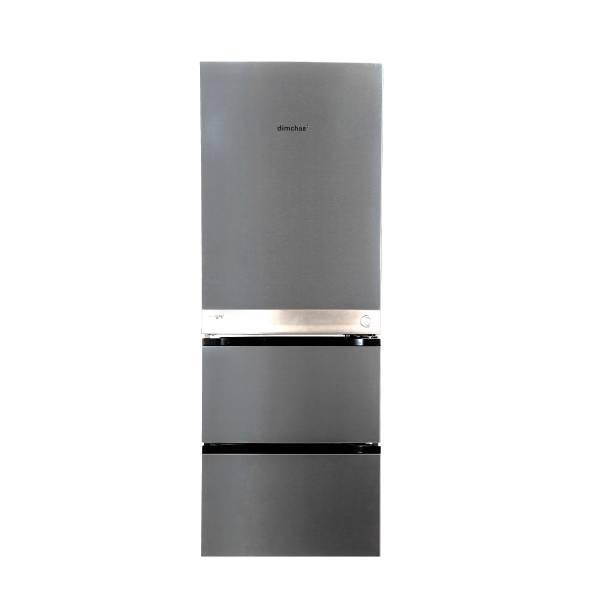 Холодильник Daewoo DT33BFMUH, серебристый