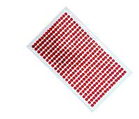 Декоративные стразы наклейки красные 23х11см