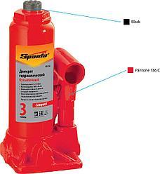 Домкрат гидравлический бутылочный, 3 т   180-340 мм  SPARTA