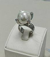 Кольцо с жемчугом Майорка / 17,5 размер / ЕВ54