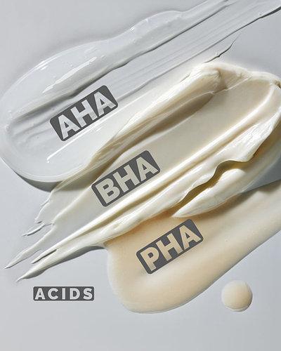 AHA / BHA / PHA – не просто кислоты
