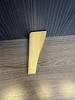 Ножка мебельная, деревянная, конус с наклоном 15 см, фото 1